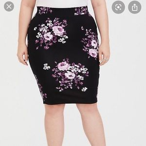 Torrid Pencil Skirt Sz 0